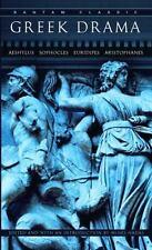 Greek Drama (Bantam Classics), Moses Hadas, Good Book