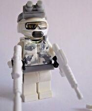 Lego ARCTIC COMMANDO Custom Minifigure Brickforge, Brickarms Weapons Military