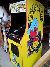 PAC-MAN Fully Restored, Original Video Arcade Game with Warranty & Support