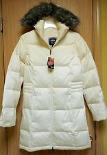 NEW $300 Mountain Hardwear Downtown Long Down Parka Jacket Womens M Winter White