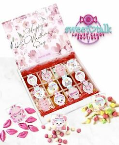 """""""OH MAMA!"""" Mothers Day Candy & Chocolate Gift Box - 12 Candy Cube Box"""