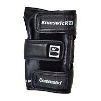 Brunswick Command Positioner Right Hand Bowling Glove Black Wrist Support
