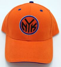 5ea12ae271519 NBA New York Knicks Adult Structured Curved Brim Adjustable Fit Cap Hat NEW!