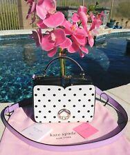 🌸 Kate Spade Vanity Cabana Dot Mini Top-handle Bag Leather Crossbody NEW $198