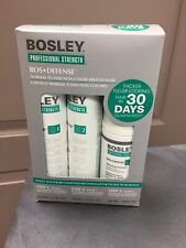 BOSLEY DEFENSE Non Color Starter Kit, Normal Fine Hair, Shampoo, Cond, Treatment