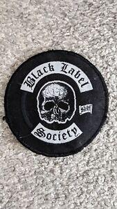 Black label society logo sew on Patch