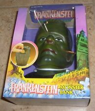 RARE VINTAGE FRANKENSTEIN CLASSIC UNIVERSAL MONSTERS FIGURE BANK NEW BBI MIB