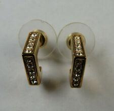Neugablonz Paar Ohrstecker Swarovski Elements im Art Deco Stil (61199)