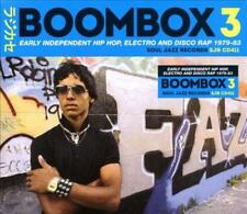 VARIOUS ARTISTS - BOOMBOX %7bCORRECT%7d 3: EARLY INDEPENDENT HIP HOP, ELECTRO AND DI