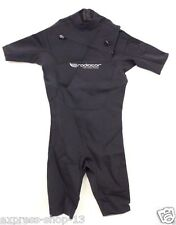 Men's Short Sleeve Springsuit Surfing Water Sports Wet Suit 2mm Size Large New