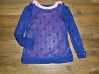 Tommy Hilfiger 2 Pc. Set Girls L 12-14  Peach Tank Top & Blue Long Sleeve Top