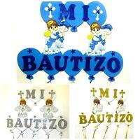 Baptism Favors Banner Boy Mi Bautizo Wall Decoration/decoracion de bautizo