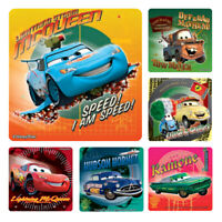 Disney Cars Stickers x 6 - Birthday Party Supplies Favours Loot Supercharged