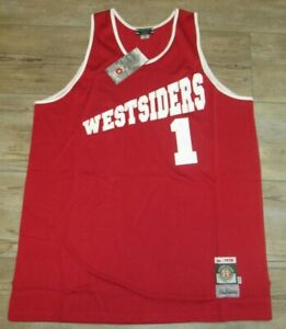 Stall & Dean 1975 Westsiders #1 Rucker Vintage Basketball Jersey Men's 2XL