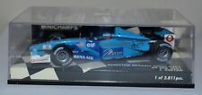 MINICHAMPS No 400010108 BENETTON RENAULT SPORT B201 GP USA 2001 J. BUTTON