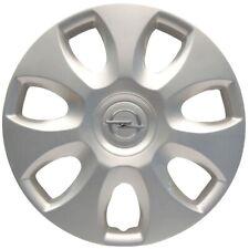 ORIGINAL GM Opel Radkappe Radblende 15 Zoll SILBER (1 Stück) Corsa D 6006266