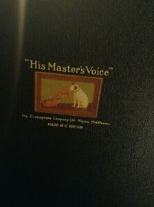 Gramophone Old Vintage His Master Voice