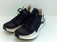 adidas Running Ultraboost 19 Core Black/Linen/Crystal White 8, Black, Size 8.0 x