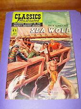 Comic: Classics Illustrated Sea Wolf #85 Jack London Hrn 141 - 1957 15c reader