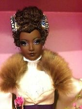 Gold label, Akayo Jones, passport collection barbie doll