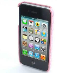 Pink Luxury Leather Case for the Apple iPhone 4 4S