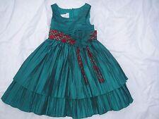 Bonnie Jean Girls Dress Size 5 (GRN)