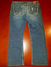 BKE Madison Boot Tag Size 28 Real: 30x23 Medium Wash Blue Jeans Hemmed Short