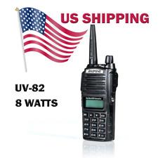 BaoFeng UV-82 8w High Power Dual Band Radio VHF/UHF Portable Transceiver