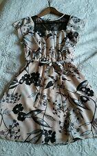 Pretty feminine  floral summer dress size 12