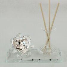 DLM25645 Profumatore in vetro per Laurea Trasparente (kit 6 pezzi) bomboniera