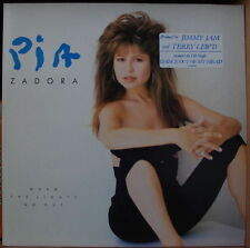 PIA ZADORA WHEN THE LIGHTS GO OUT CHEESECAKE HOLLAND PRESS LP