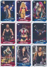 2018 Topps WWE Heritage Wrestling BASE, ROOKIES & DIVAS Pick From List