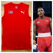Puma Cuba Pro Elite Men's Boxing Top Training Vest Gym Shirt New All Sizes