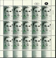 ISRAEL 1984 Stamp Sheet CHARLES ORDE WINGATE BRITISH ARMY PEOPLE IN HISTORY MNH