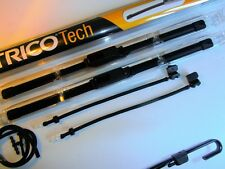 """TRICO Wiper Blades + Washer Jet Kit (bonnet to Arms) 24""""/22"""" Great Upgrade PAIR"""