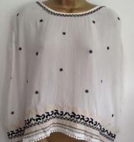 Superdry Neonomad Embroidered Cape Top (BNWT) Size - M(UK-12) or Size -L (UK-14)