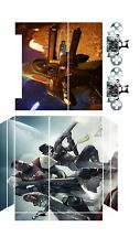 PS4  Skin Sticker Vinyl for Console & 2 Controllers destiny 2