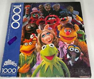 Jim Henson Muppets Party 1000 Piece 1978 Springbok Jigsaw Puzzle COMPLETE Kermit