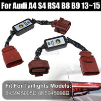 SeDynamic Turn Signal Indicator LED Taillight Module For Audi A4 S4 RS4   ∫
