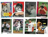 Roger Clemens all kinds lot 0f 30 baseball cards all Different Astros red sox