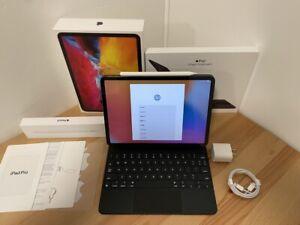 "2020 Apple iPad Pro 11"" 2nd Gen (WiFi + Cellular) w/ Pencil & Magic Keyboard!"