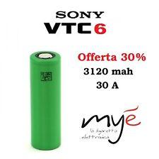 BATTERIA SONY Konion IMR VTC6 3120mah 30A 18650 Originale (VTC5 VTC5a) ITALY