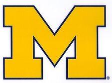 University of Michigan (U of M) Reusable Static Cling Decal
