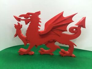 Welsh Dragon,  St David's Day gift. 3d printed. Welsh Souvenir.Craft. Rugby.