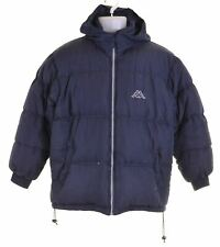 KAPPA Boys Padded Jacket 15-16 Years 2XL Blue Polyester  DW15