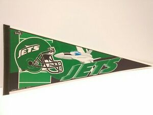NEW YORK JETS  Vintage 1990s Collectible Pennant NFL Wincraft Edition #1