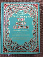 The Holy Quran Translation In English Commentary Abdullah Yusuf Ali Large