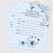 Boy Baby Shower Invitations Decorations Jungle Invites Decoration Party Supplies