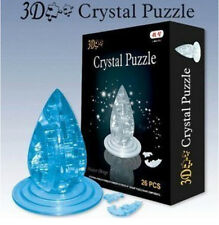 DIY 3D crystal puzzle water drop building model assemble game creative gift 1pc
