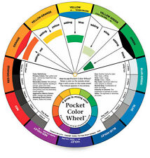"THE COLOR WHEEL CO. Pocket Color Wheel 5-1/8"" 3501"
